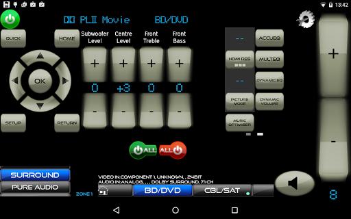 Remote for Onkyo AV Receivers & Smart TV/Blu-Ray screenshot 14
