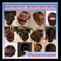 Mujeres peinados icon