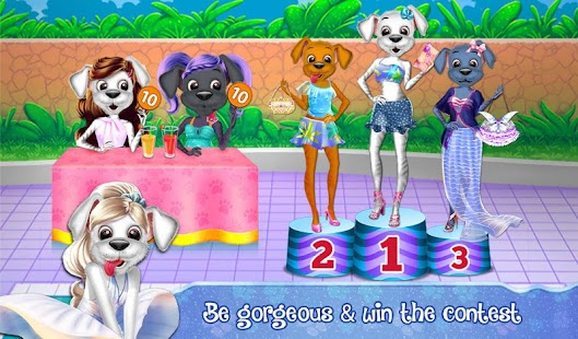 Baby Puppy Swimming Pool Party- screenshot thumbnail