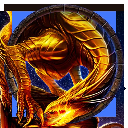 Golden Dragon Theme: Flame, Fire