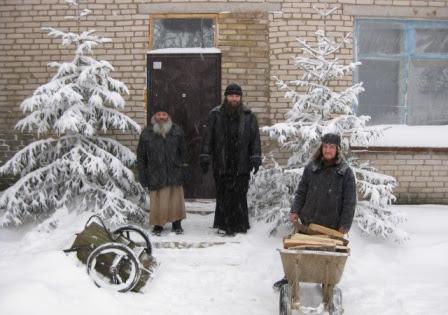 2009, Новое монастырское здание, д.Навережье, Псковская Область