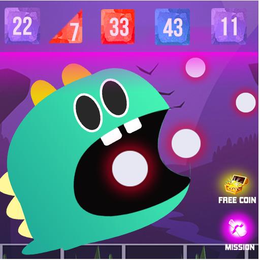 Dino Balls : Bricks Breaker (game)