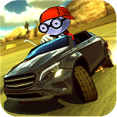 League Cartoon Splashy  Lightning Car Race Android APK Download Free By Game Buzzz