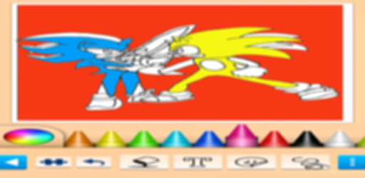 Coloring Book For Sonic Coloring Shadow S Page Google Play Də