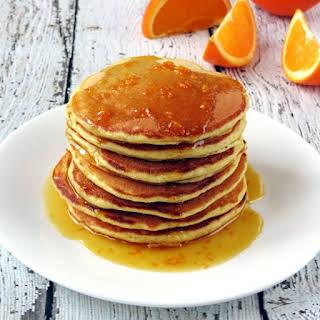 Orange Ricotta Pancakes.