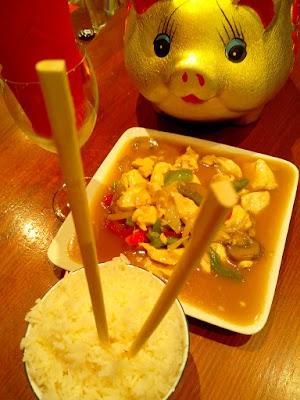 Blanc de poulet woké citronelle