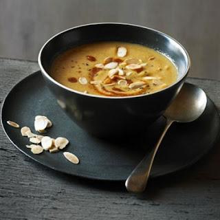 Moroccan Spiced Cauliflower & Almond Soup.