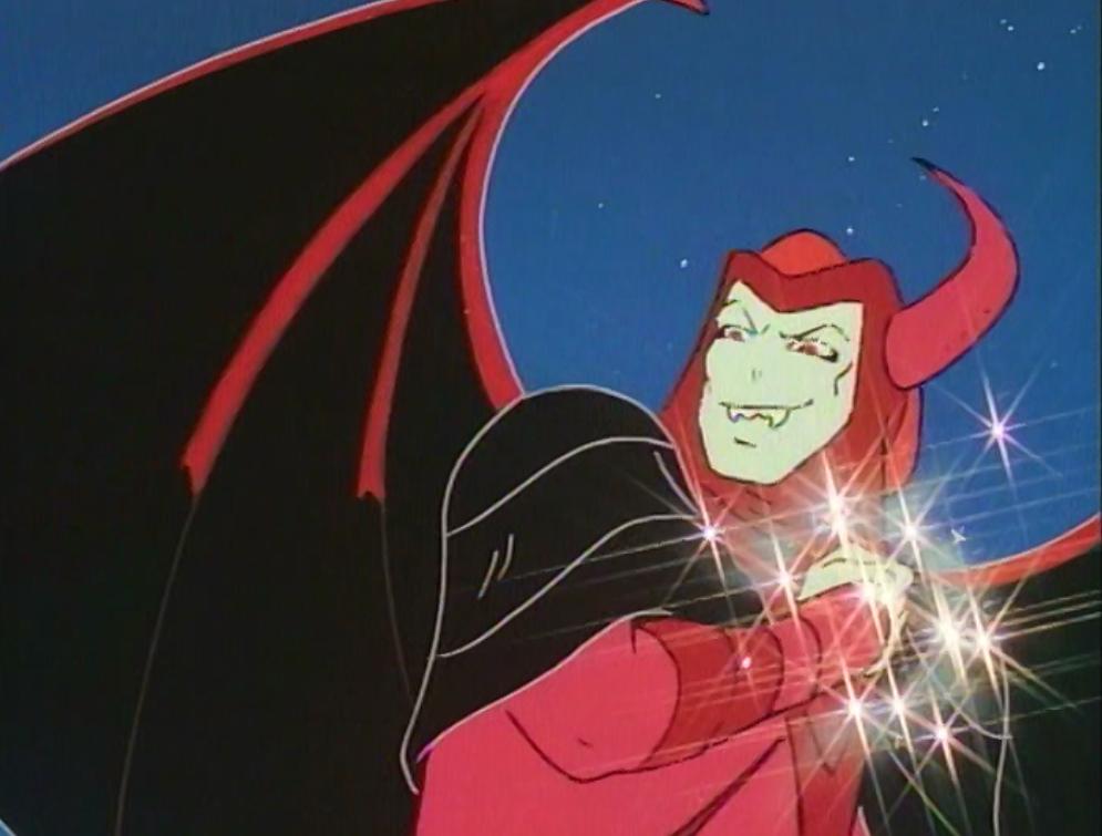 Venger casting a spell