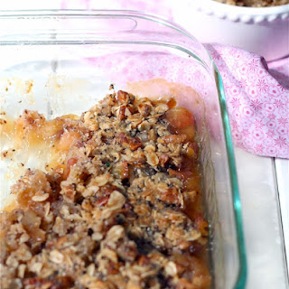 Ultimate Apple Crisp with Chia Seeds {gluten free}