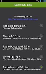 Haiti FM Radio Online - náhled