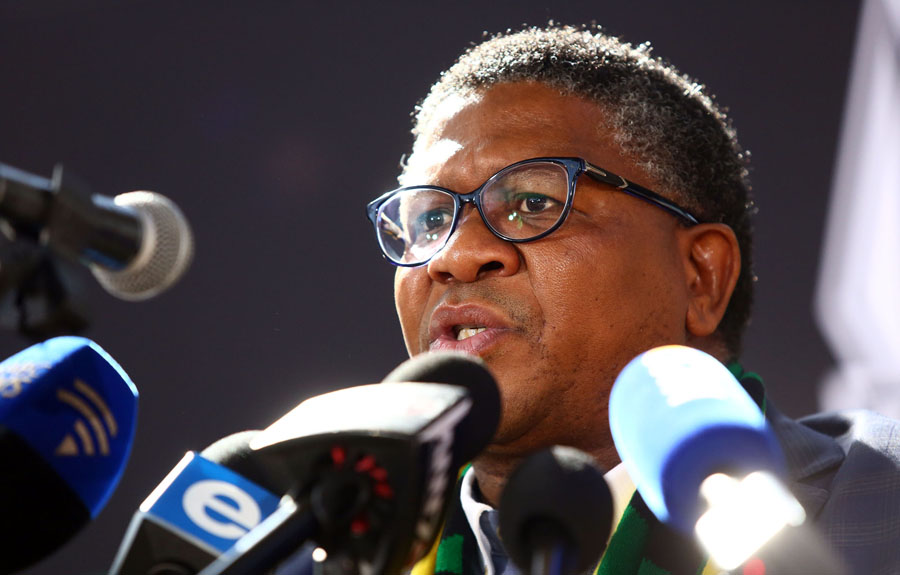 'That's an obvious autocorrect': Mbalula explains his #VoteEFF moemish - TimesLIVE
