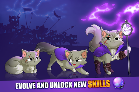 Castle Cats MOD APK Idle Hero RPG 2.14.4 (Unlimited Money) 9