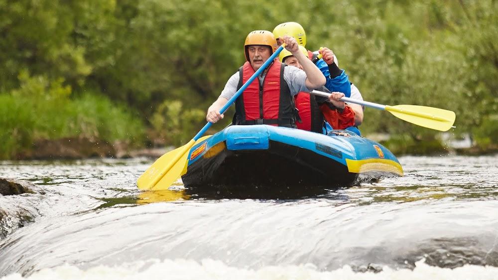 Abenteuer erleben in Bad Herrenalb beim Rafting der Albtal-Arena
