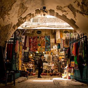 by Elliot Moore - City,  Street & Park  Street Scenes ( jerusalem, jerusalemoldcity, street, streetphotography, travel )