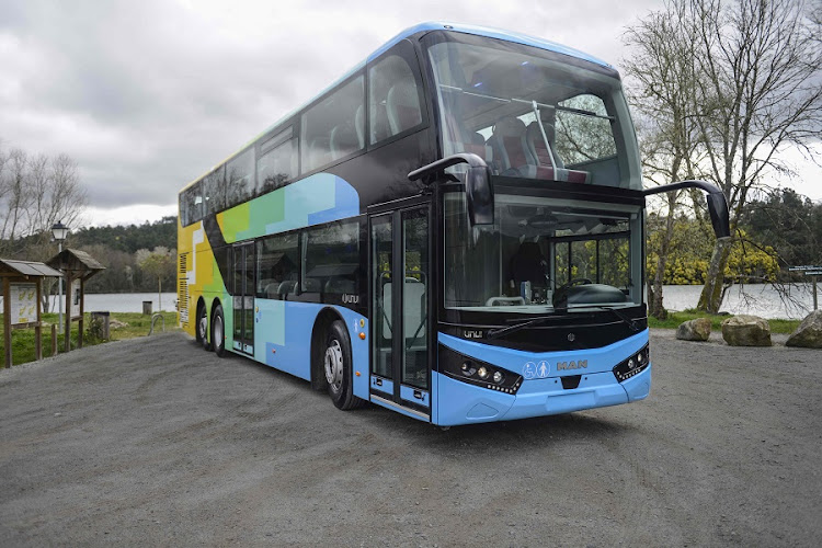 MAN Truck and Bus is offering the first natural gas-powered low-floor bus in South Korea. Picture: MAN TRUCK AND BUS