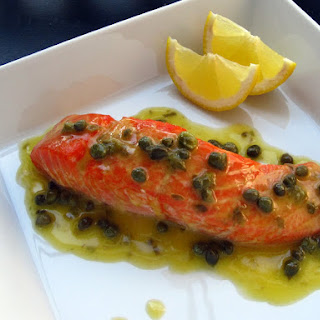Baked Salmon With Capers Recipes.