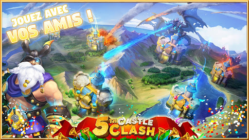 Castle Clash: RPG War and Strategy FR  {cheat|hack|gameplay|apk mod|resources generator} 5