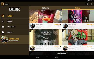Screenshot of Beer Top List