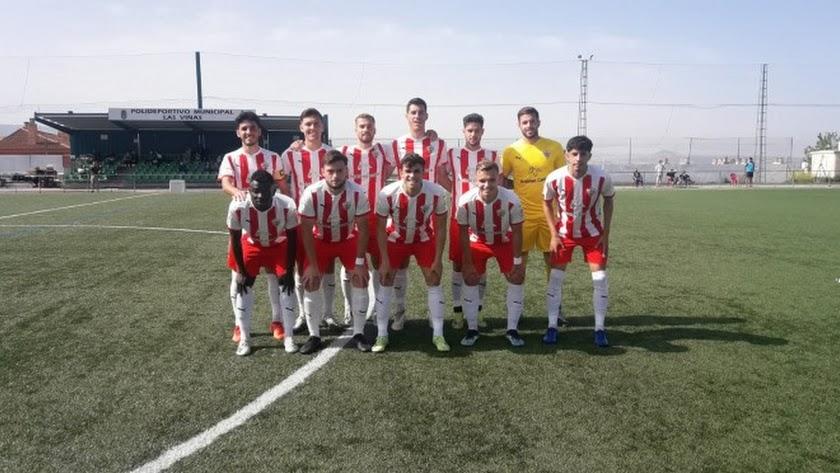 Los canteranos del Almería en Huétor Vega.
