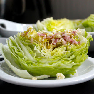 Wedge Salad with Blue Cheese Vinaigrette