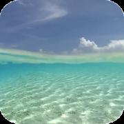 Blue ocean wave Live Wallpaper