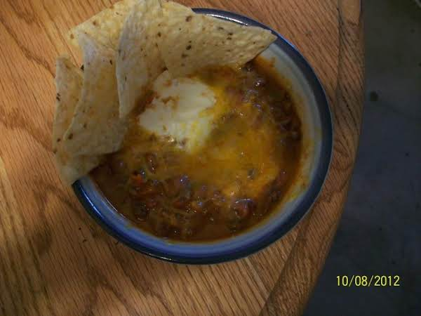 Turbo-charged Chili Recipe