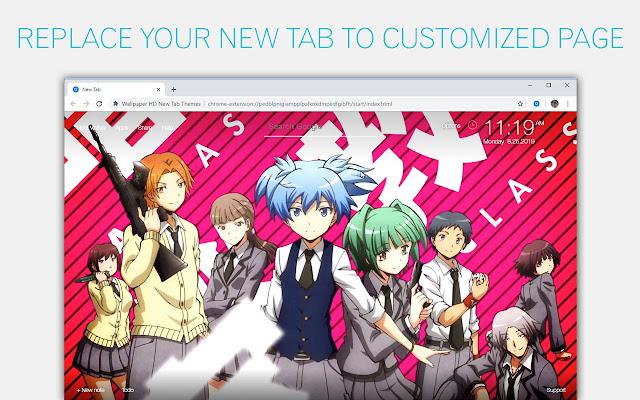 Assassination Classroom Custom New Tab
