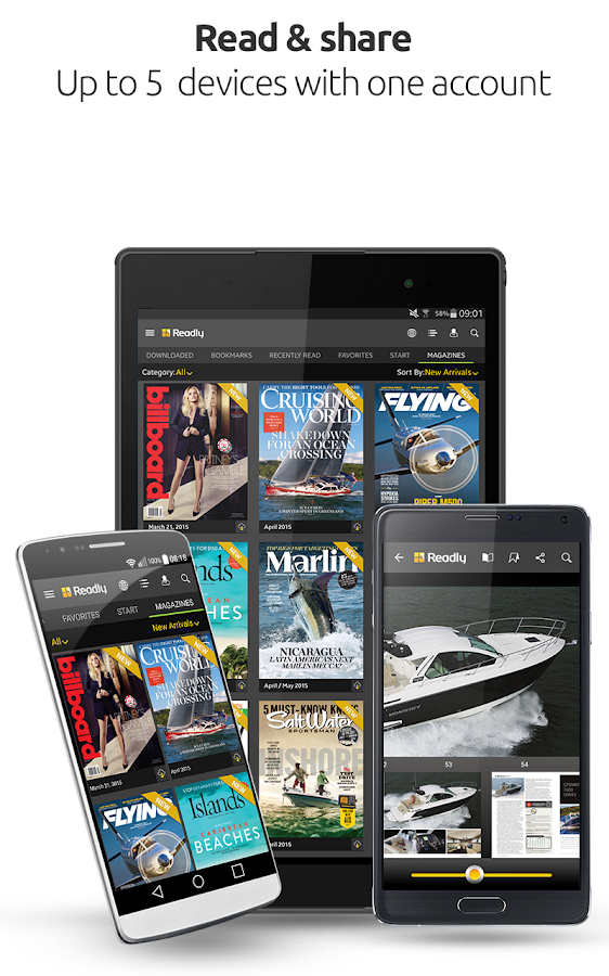 Readly – Read Unlimited Digital Magazines- screenshot