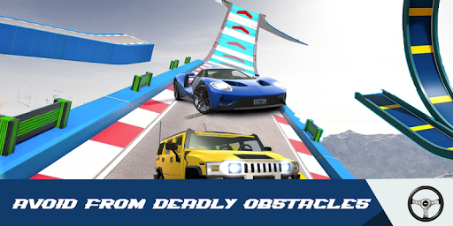 Car Stunts Racing 3D - Extreme GT Racing City android2mod screenshots 2