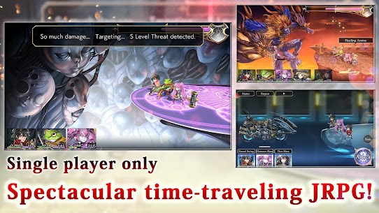 ANOTHER EDEN Mod Apk 2.3.400 [Unlimited Gil + Damage] 2