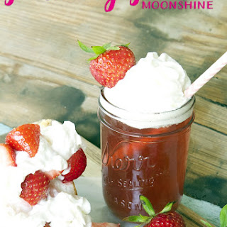 Strawberry Shortcake Moonshine