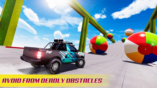 Mega Ramp Car Racing Stunts 3D - Impossible Tracks android2mod screenshots 5
