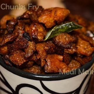 Soya chunks fry recipe / Meal Maker Fry recipe / Soya Varuval.