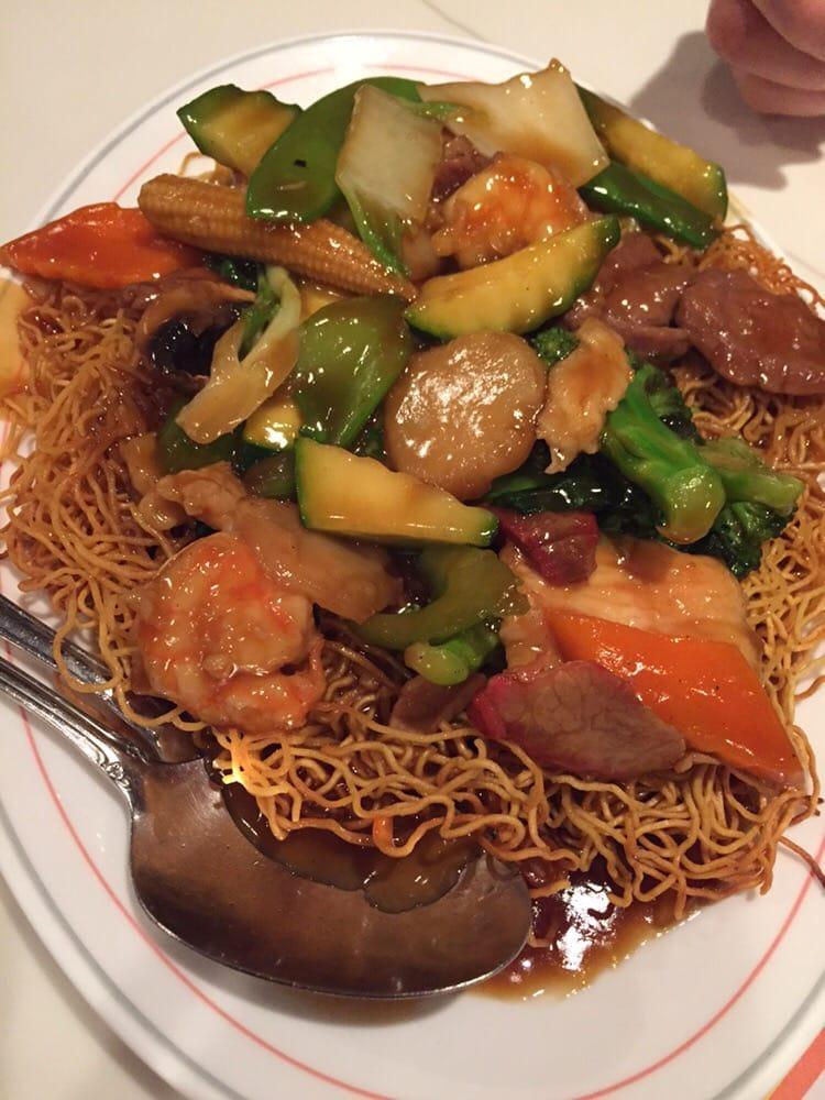 Photo of Canton Village - Livermore, CA, United States. Hong Kong style chow mien
