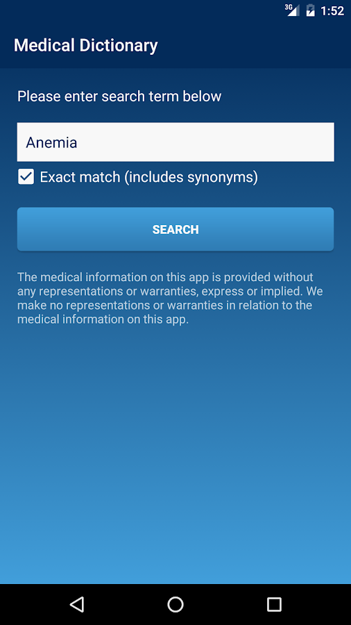 Medical & Medicine Dictionary- screenshot