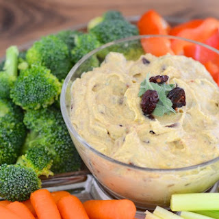 Cranberry and Sage Hummus