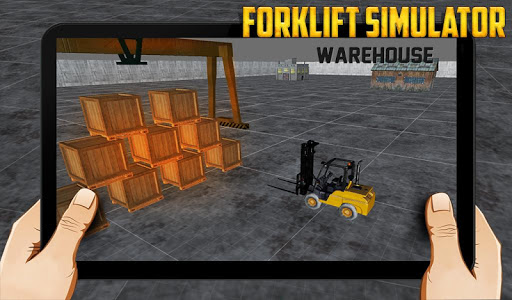 Forklift simulator warehouse 1.0 screenshots 2