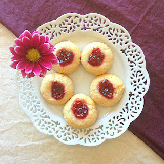 Happy Thumbprint Cookies