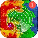 Weather Radar App — Live Weather Maps & Alerts icon