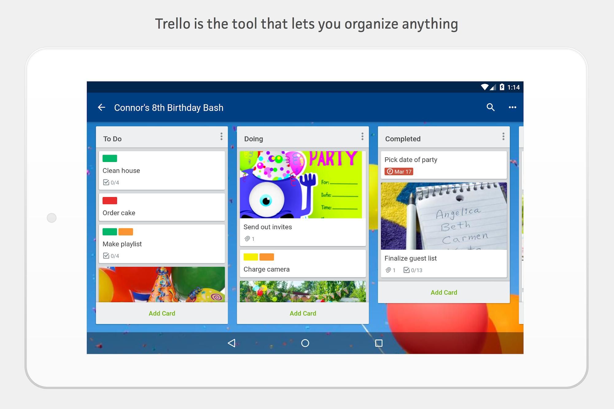 Trello screenshot #12