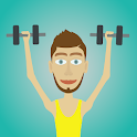 Muscle clicker 2: RPG Gym game icon