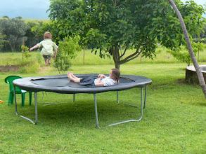 Photo: Die trampoline: geweldig!