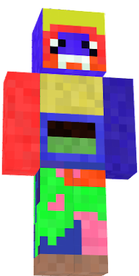 Mixed as a zombie pigman and Steve. He will be on your side of the fight.