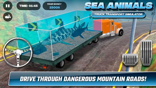 Sea Animals Truck Transport Simulator 1.0 screenshots 6