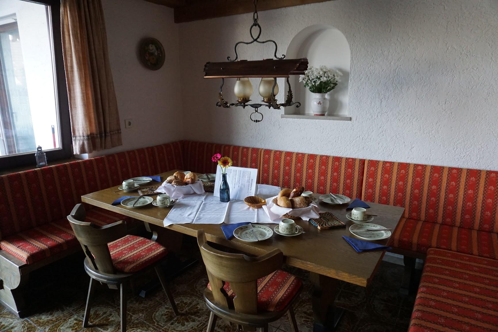 Sala del desayuno.