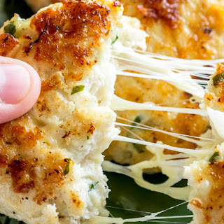 Cauliflower Cheese Chicken Fritters.