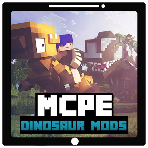 android More+ Dinosaur Mods For MCPE Screenshot 0