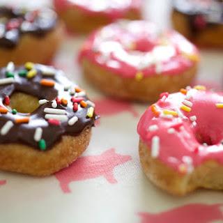 Gluten Free Mini Vanilla Doughnuts