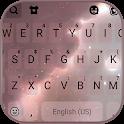 Galaxy Background Keyboard Theme icon