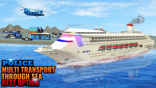 Police Cruise Ship Transport : Driving Simulator 1.1 screenshots 1